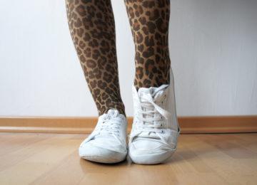 Leopardenstrumpfhose
