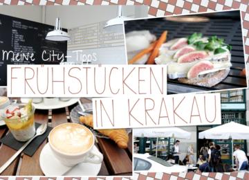 Krakau Frühstücken Café