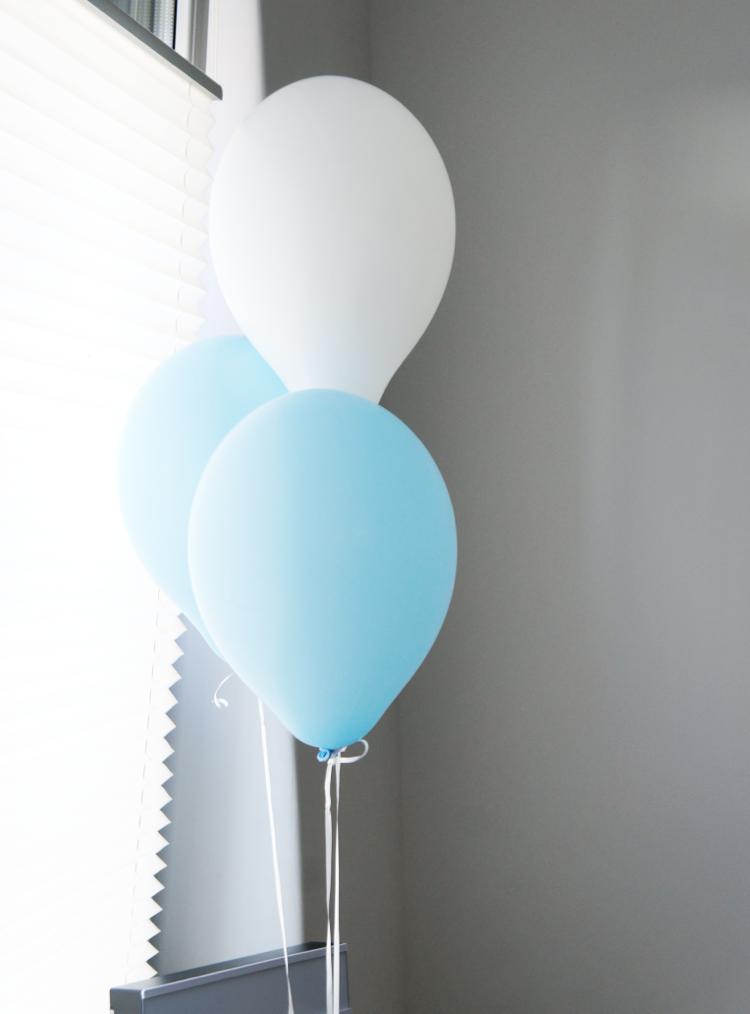 Baby Shower Dekoration Luftballons