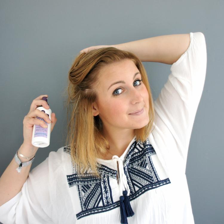 Salt Spray Hair Tutorial
