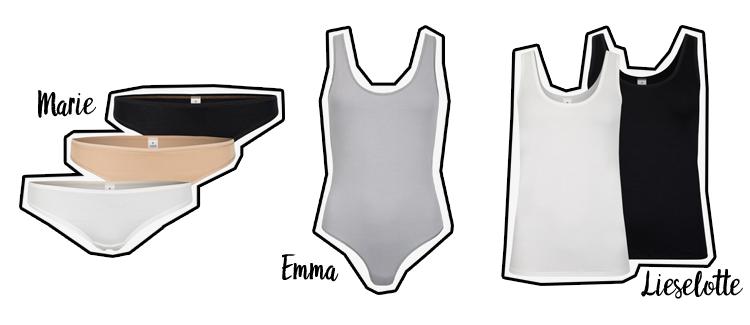 Unterwäsche gots zertifiziert erlich textil