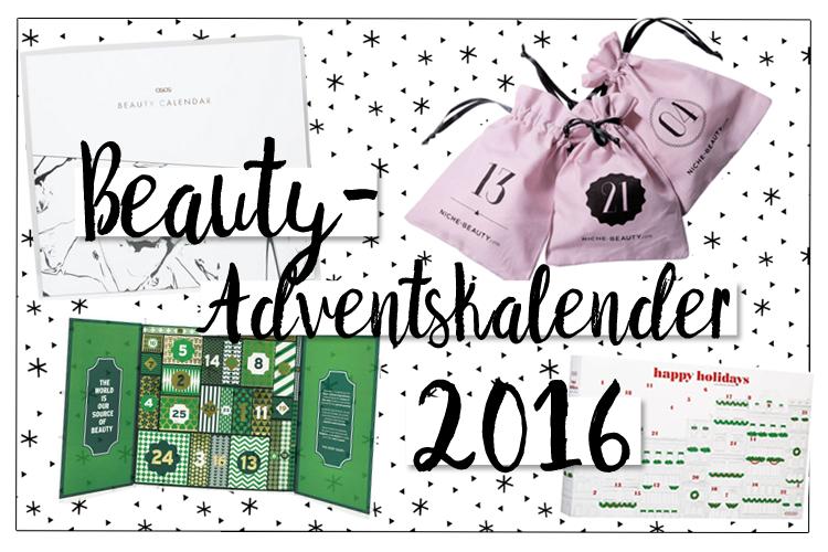 Beauty-Adventskalender 2016 Übersicht