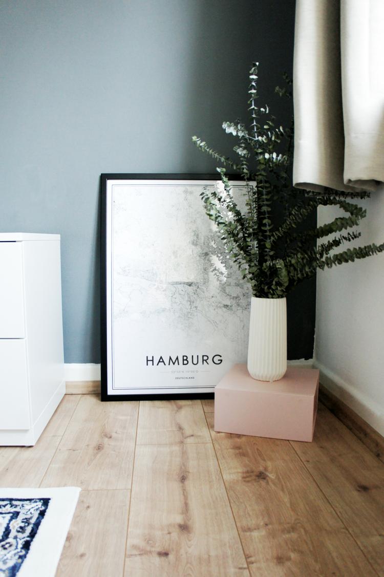 Hamburg moderne Poster