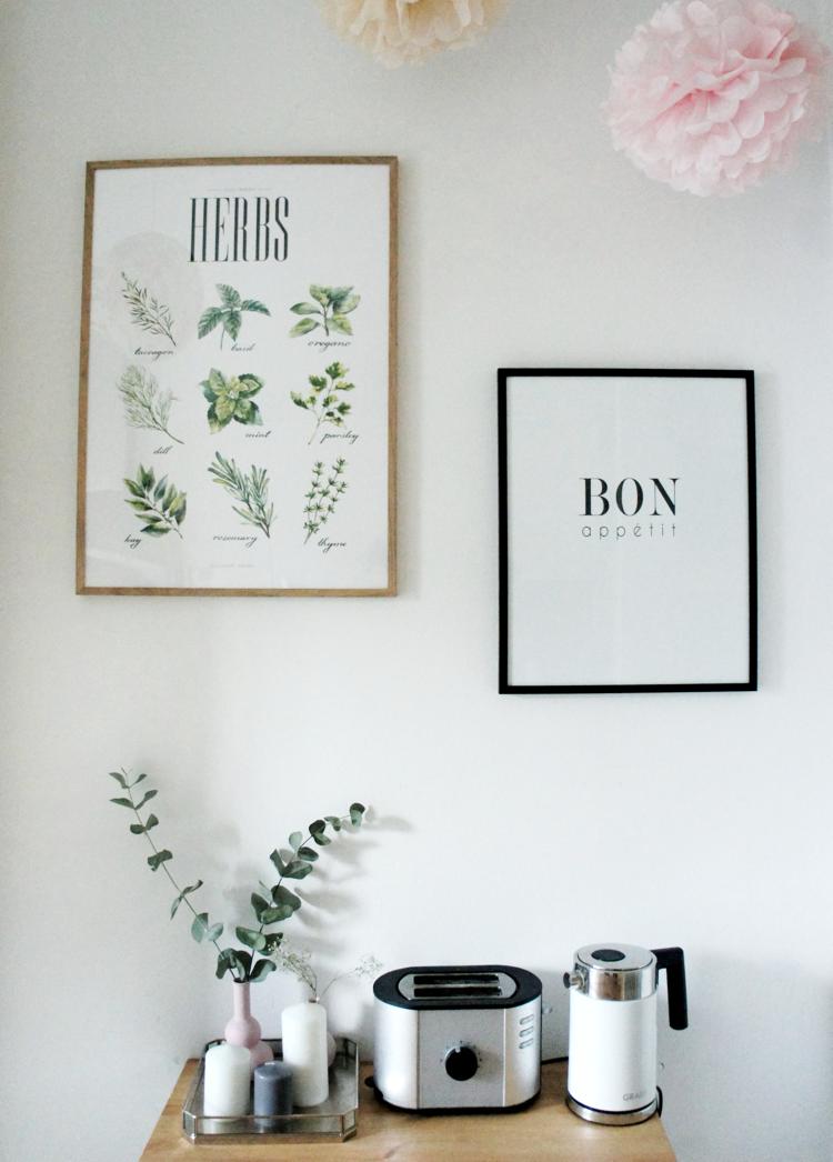 Poster für die Küche Desenio