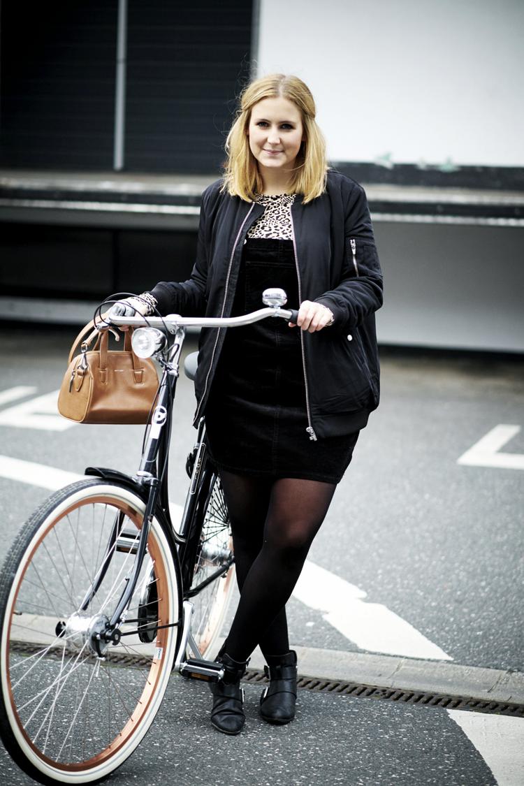 Streetstyle mit Fahrrad