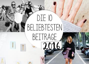 Die 10 beliebtesten Blogbeiträge 2016