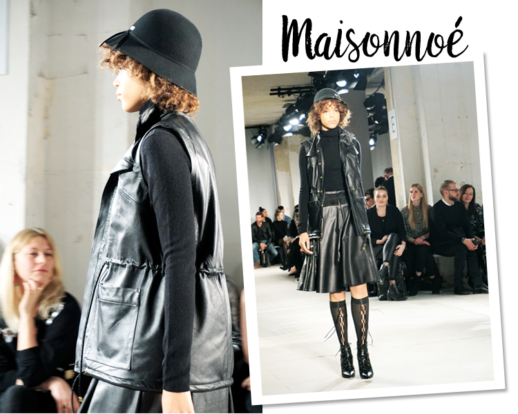 Maisonnoée Fashion Week Berlin Januar 2017