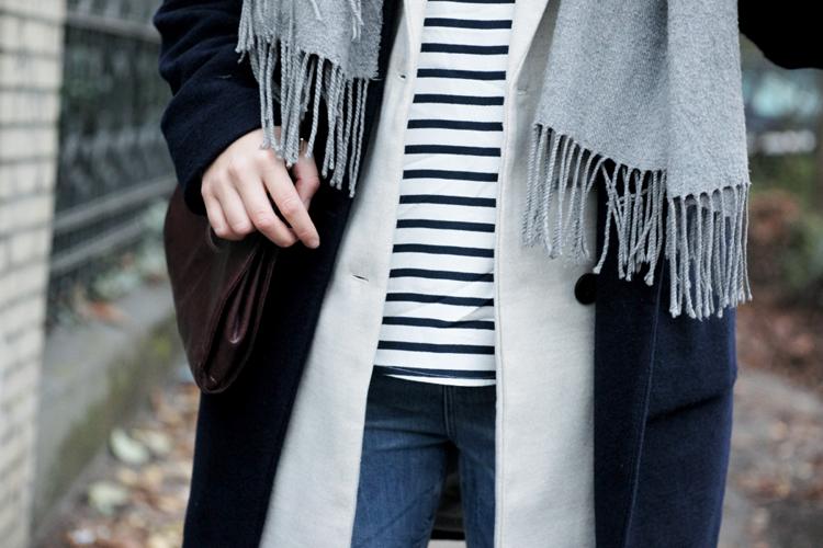 Details Streetstyle Longvest Stripes