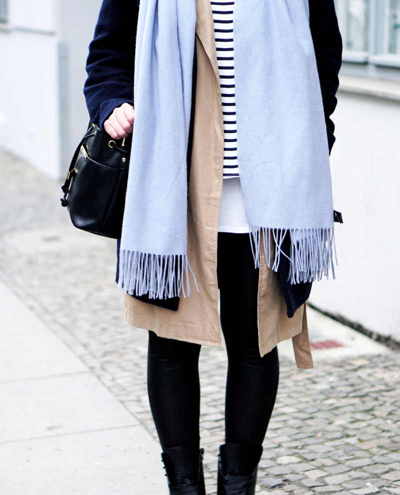 Fashion Week Berlin Streetstyle mit Schal