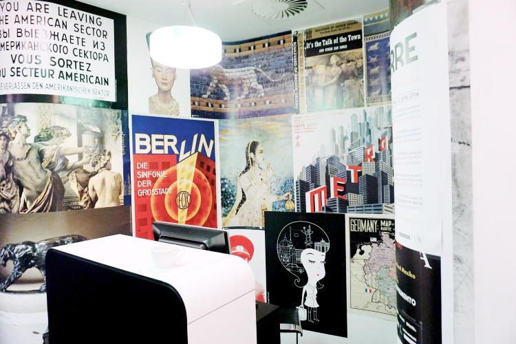 Berlin Hotel Interior Empfangsbereich