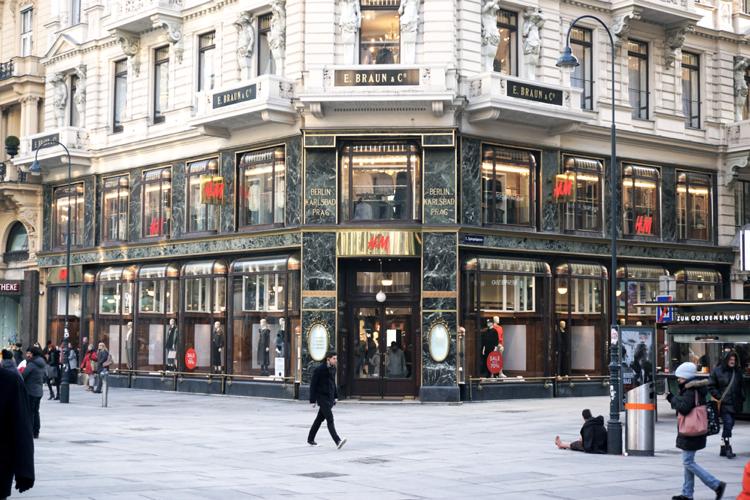 Wien historischer alter H&M