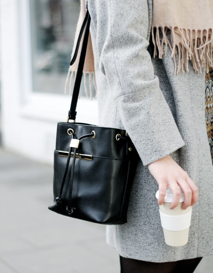 Streetstyle Details black Bucket Bag