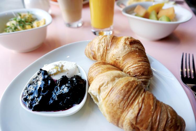 Wien Hotel Schani Frühstück