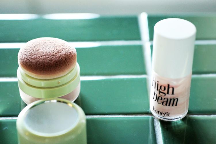 Benefit Highlighter Make Up Tutorial