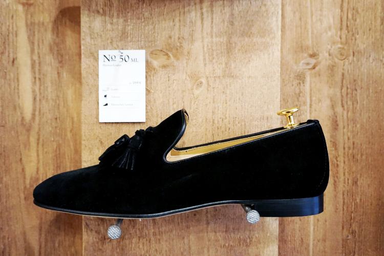 Lederloafer schwarz Shoepassion