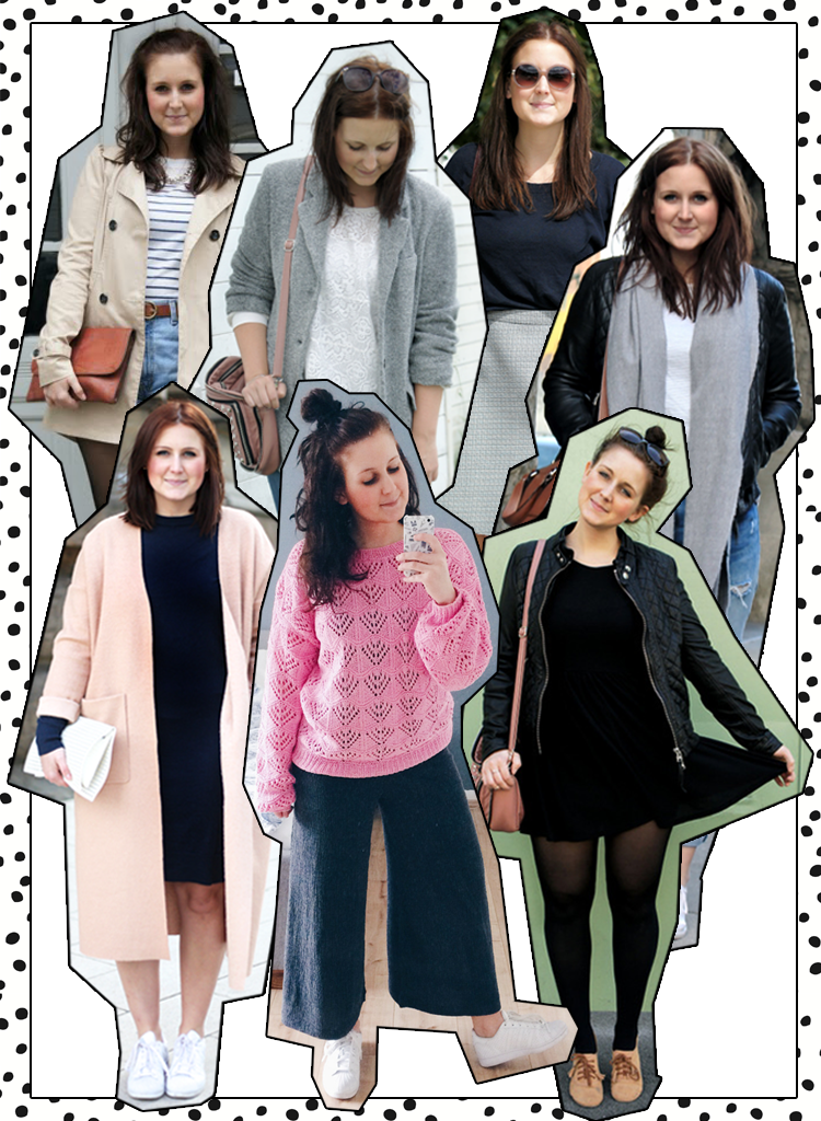 Sieben Outfits Frühling Blogger Inspiration
