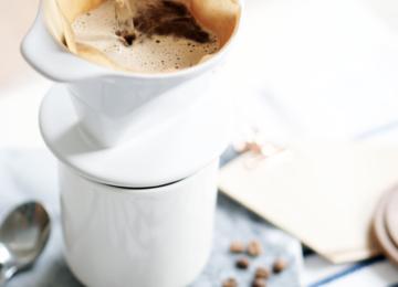 handgebrühter Kaffee Food Styling
