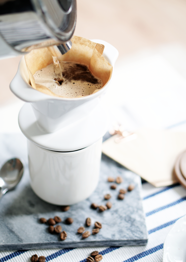 Blonde Roast Kaffee Food Styling