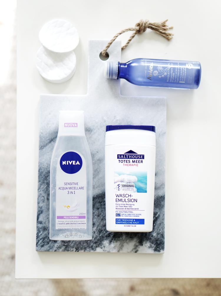Augen-Make Up-Reiniger Gesichtswasser Waschgel für Neurodermitis