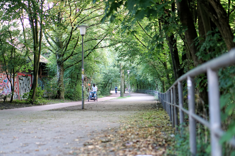 Laufen in Hamburg Laufstrecke