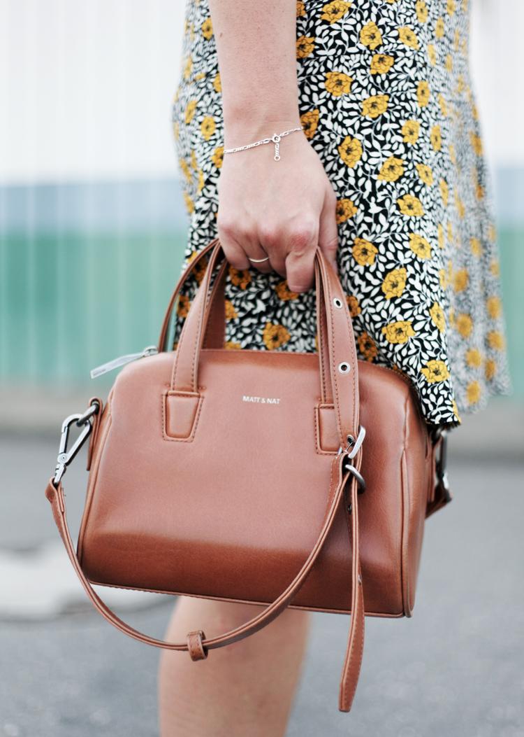 Streetstyle Details Flowerprint Matt & Nat Bag