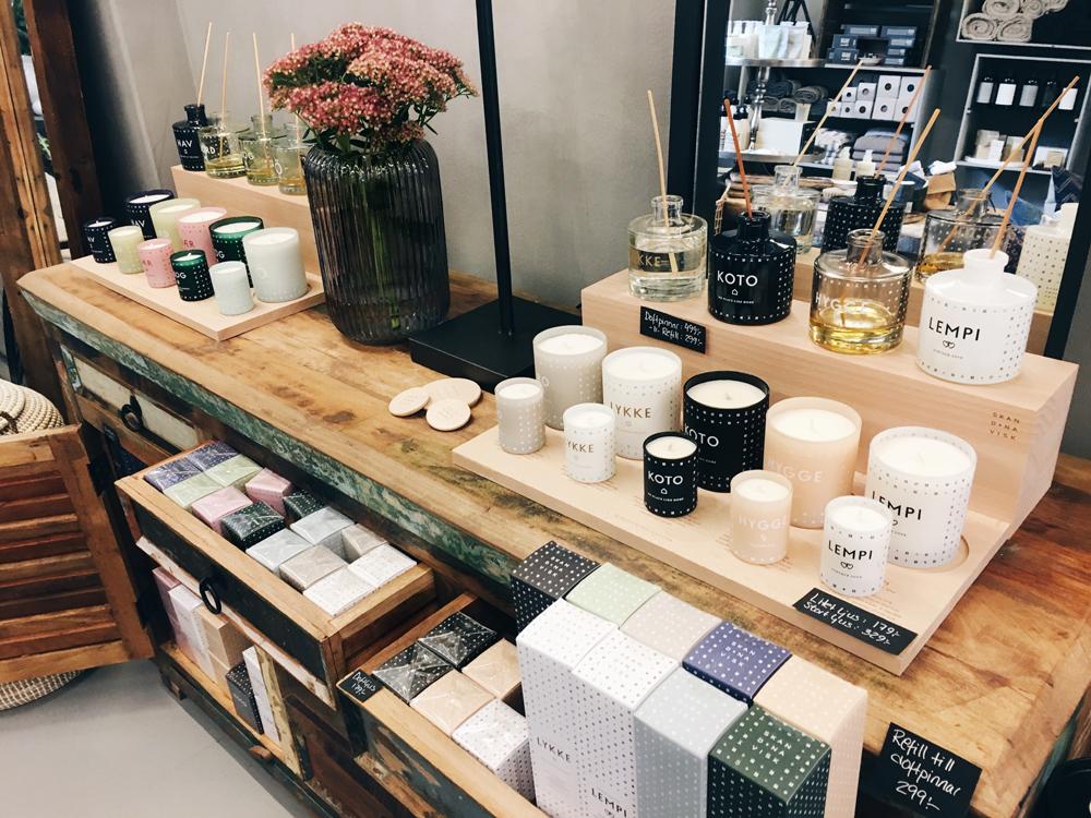 Helsingborg Interior Shopping Guide avoi Store Kerzen