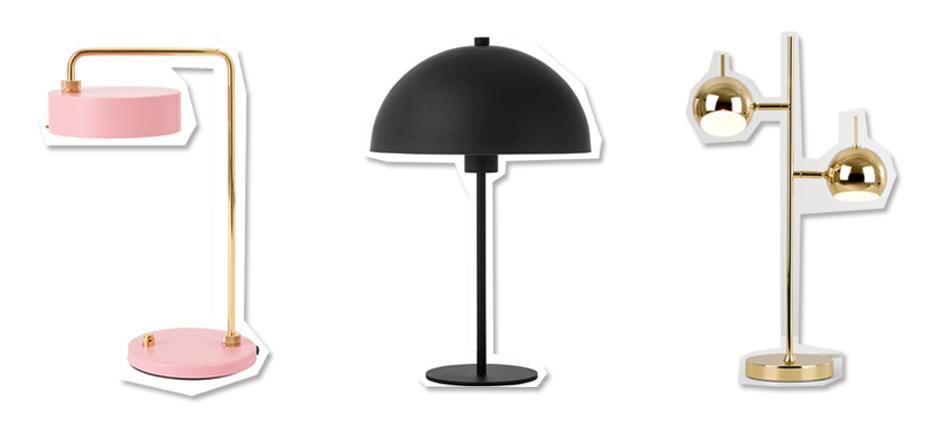 Moderne Nachttischlampen