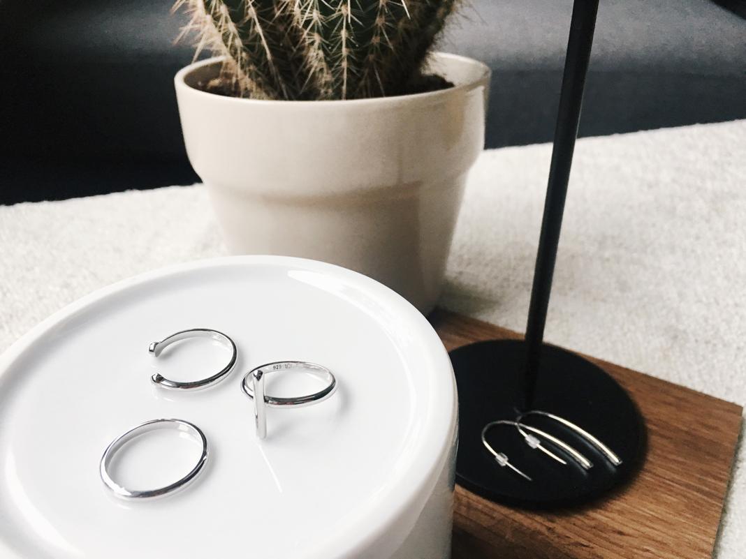 Silberschmuck Tchibo Ring Set günstig