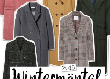 Wintermäntel 2018 Trend 2018
