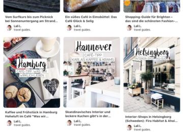 Pinterest Travel Guide Städtetipps