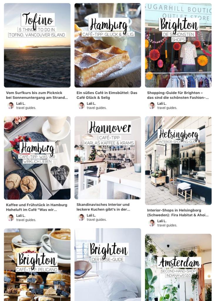 Travelguide Pinterest Reiseinspiration Städtetrip