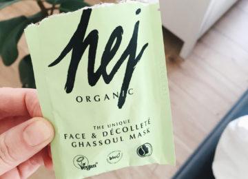 Hej Organic Tonerde Gesichtsmaske im Test Blog